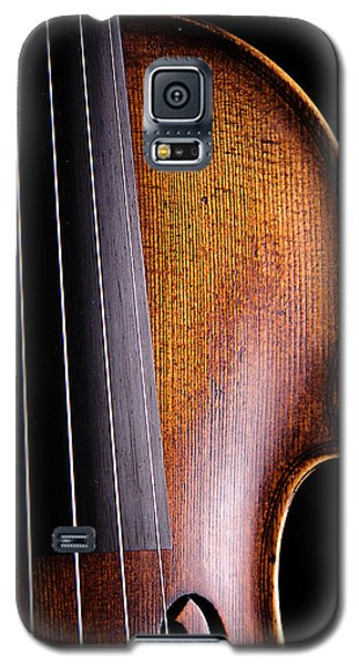 Violin Galaxy S5 Case - Violin Isolated On Black by M K  Miller