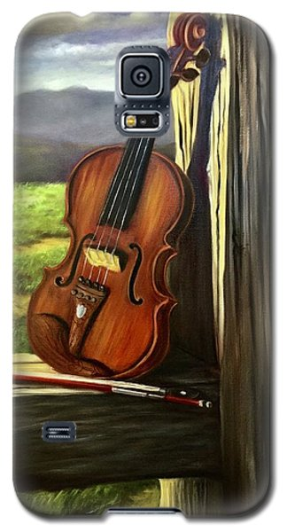 Violin Galaxy S5 Case by Randy Burns