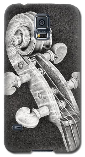 Violin Scroll Galaxy S5 Case