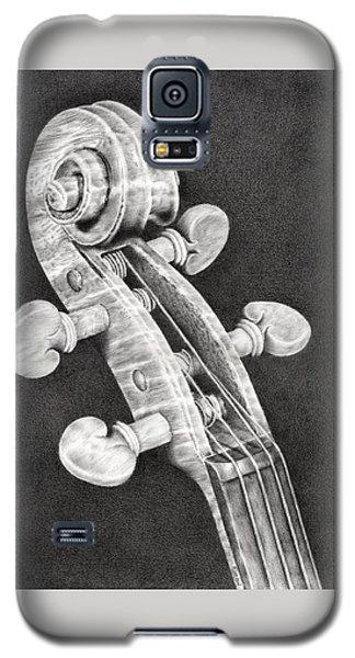 Violin Scroll Galaxy S5 Case by Remrov