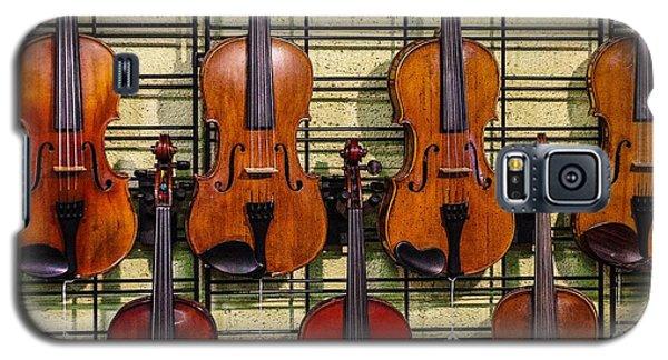 Violins In A Shop Galaxy S5 Case