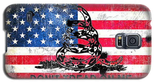 Viper N Bullet Holes On Old Glory Galaxy S5 Case