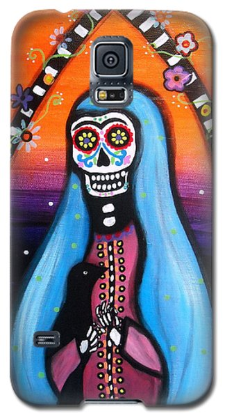 Virgen Guadalupe Muertos Galaxy S5 Case by Pristine Cartera Turkus