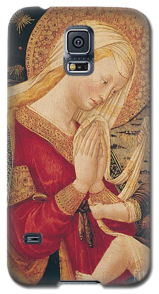 Religious Galaxy S5 Case - Virgin And Child  by Neri di Bicci