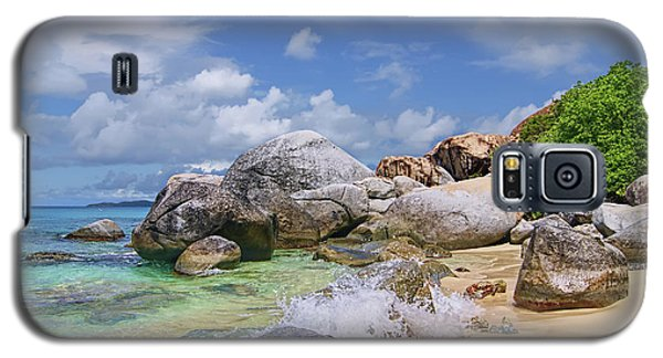 Galaxy S5 Case featuring the photograph Virgin Gorda The Baths by Olga Hamilton