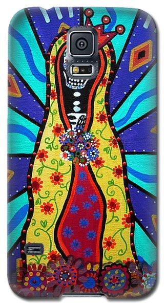 Virgin Guadalupe Day Of The Dead Galaxy S5 Case by Pristine Cartera Turkus