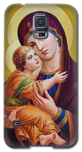 Virgin Of Silver Spring - Theotokos Galaxy S5 Case by Svitozar Nenyuk
