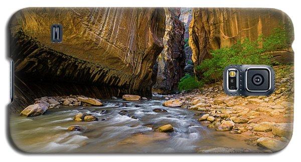 Virgin River - Zion National Park Galaxy S5 Case