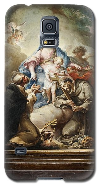 Virgin With St. Francis And St. Dominic Galaxy S5 Case