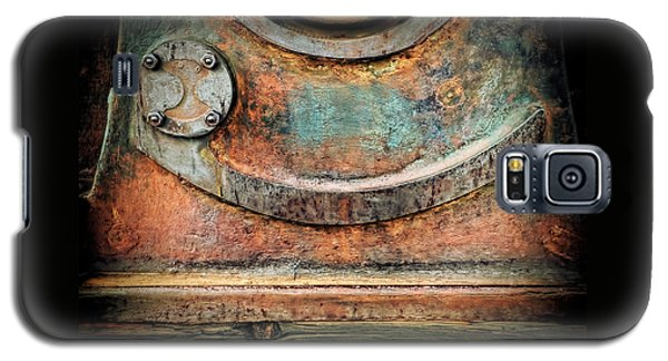 Galaxy S5 Case featuring the photograph Virginia City Rust by Steve Siri
