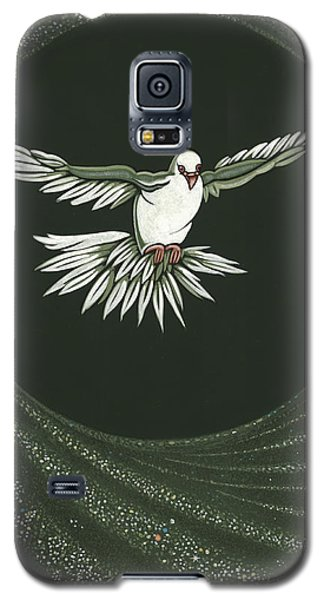 Viriditas-holy Spirit Detail Galaxy S5 Case by William Hart McNichols