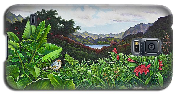 Galaxy S5 Case featuring the painting Visions Of Paradise Viii by Michael Frank