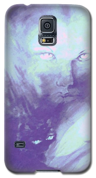 Galaxy S5 Case featuring the painting Visions Of The Night by Denise Fulmer