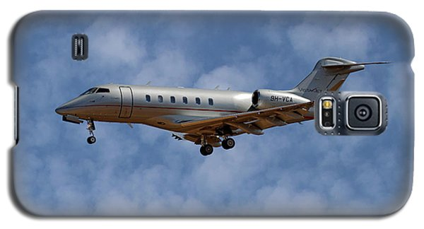 Jet Galaxy S5 Case - Vista Jet Bombardier Challenger 300 1 by Smart Aviation