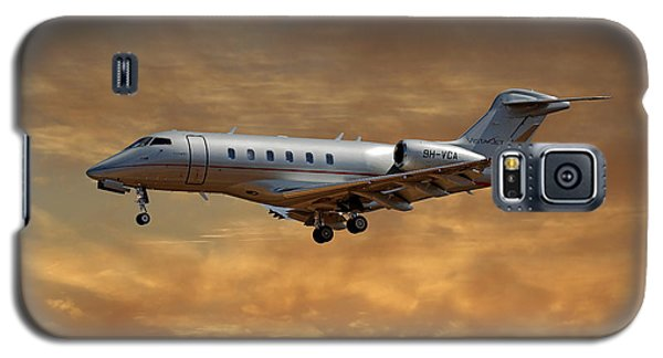 Jet Galaxy S5 Case - Vista Jet Bombardier Challenger 300 2 by Smart Aviation