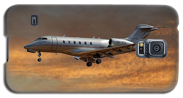 Jet Galaxy S5 Case - Vista Jet Bombardier Challenger 300 3 by Smart Aviation
