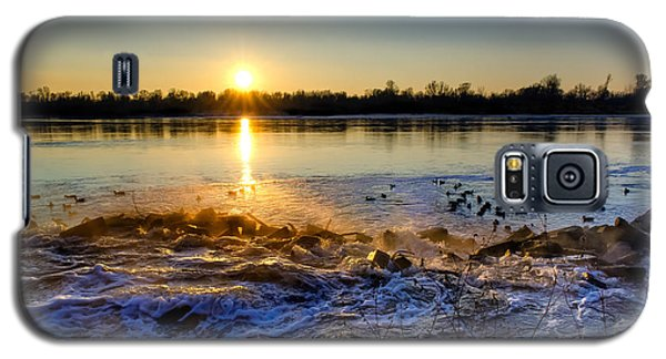 Vistula River Sunset 3 Galaxy S5 Case