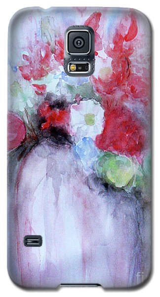 Galaxy S5 Case featuring the painting Vitality Still Life by Jasna Dragun