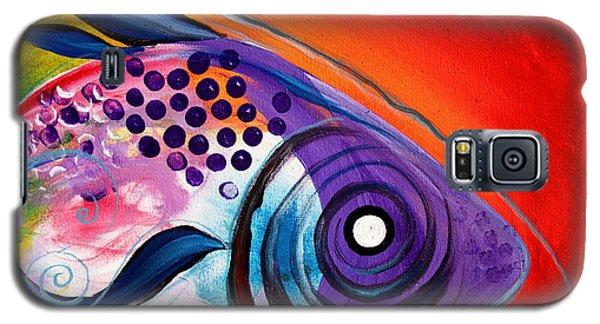 Vivid Fish Galaxy S5 Case