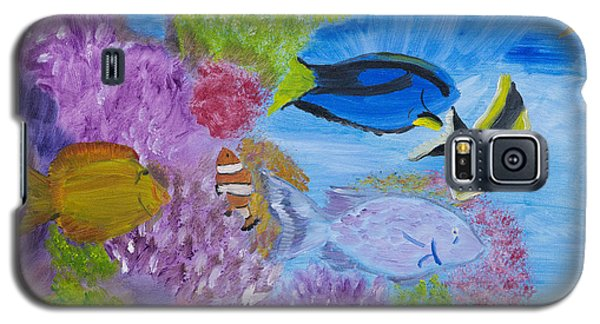 Corals Calling  Galaxy S5 Case by Meryl Goudey