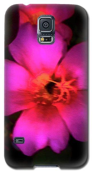 Vivid Rich Pink Flower Galaxy S5 Case