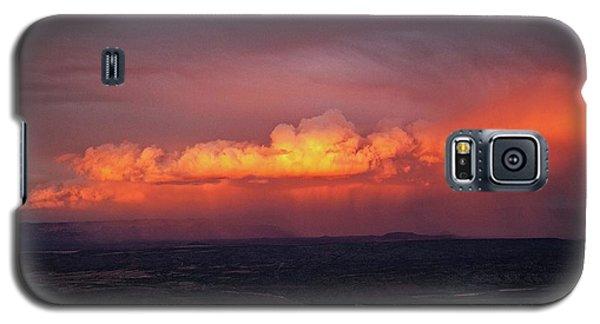 Vivid Verde Valley Sunset Galaxy S5 Case