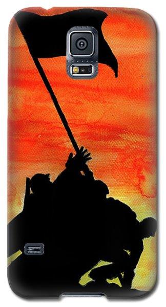 Vj Day Galaxy S5 Case by P J Lewis