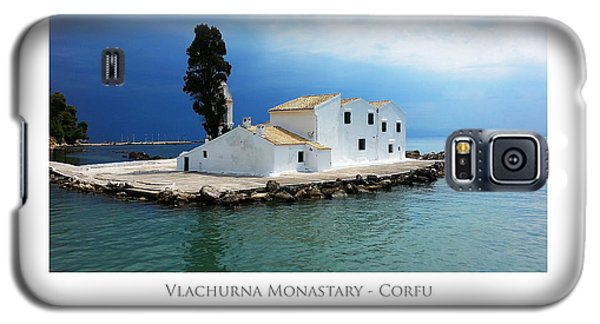 Vlachurna Monastary - Corfu Galaxy S5 Case