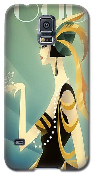 Vogue - Bird On Hand Galaxy S5 Case