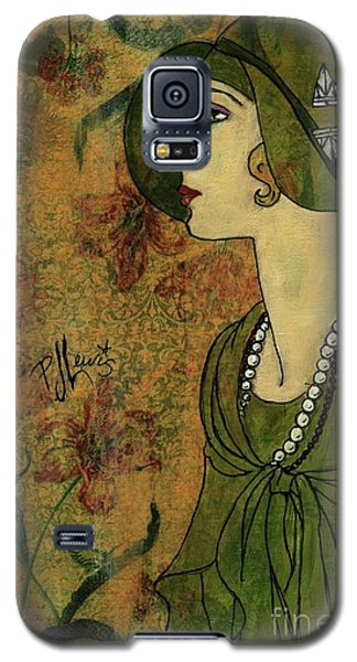 Galaxy S5 Case featuring the painting Vogue Twenties by P J Lewis