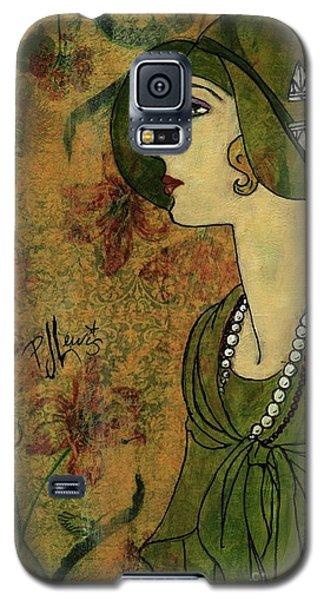 Vogue Twenties Galaxy S5 Case by P J Lewis