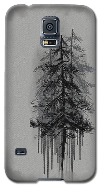 Galaxy S5 Case featuring the painting Voices by Annette Berglund