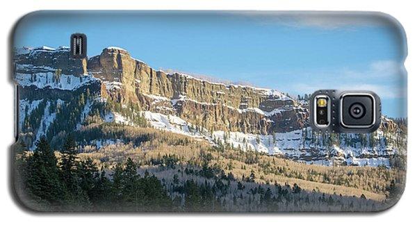 Volcanic Cliffs Of Wolf Creek Pass Galaxy S5 Case