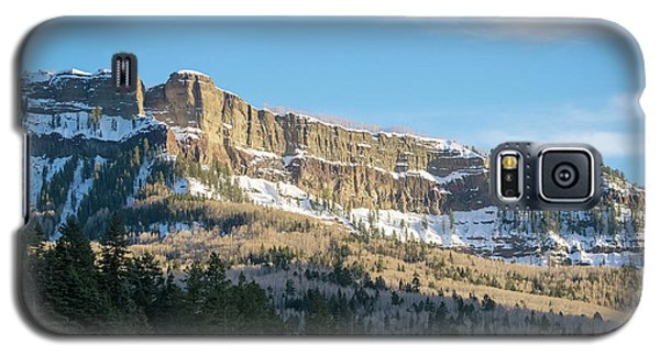 Volcanic Cliffs Of Wolf Creek Pass Galaxy S5 Case