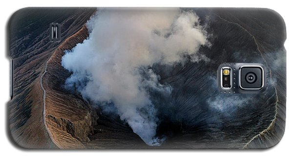 Volcanic Crater From Above Galaxy S5 Case