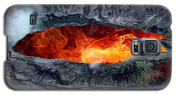 Volcanic Eruption Galaxy S5 Case by Anthony Dezenzio