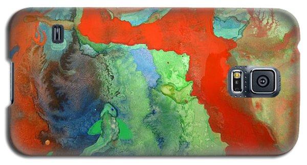 Volcanic Island Galaxy S5 Case