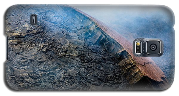 Galaxy S5 Case featuring the photograph Volcanic Ridge by M G Whittingham