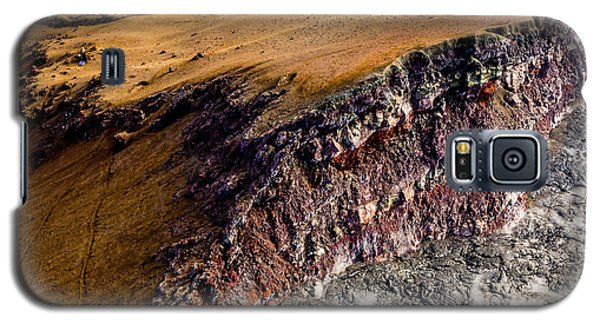Galaxy S5 Case featuring the photograph Volcanic Ridge II by M G Whittingham