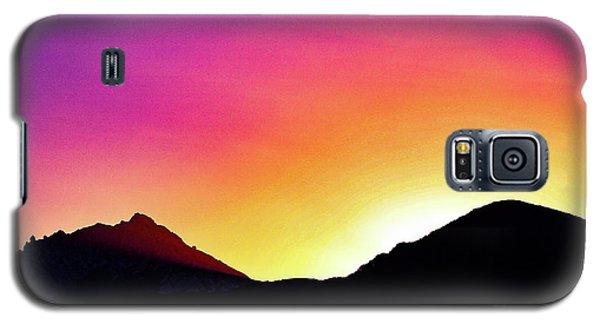 Volcanic Sunrise Galaxy S5 Case