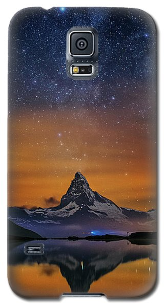 Volcano Fountain Galaxy S5 Case