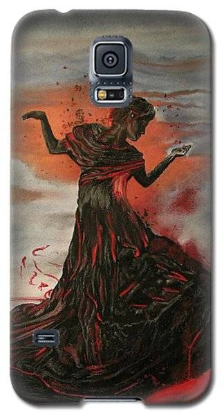 Volcano Keeper Galaxy S5 Case by Melita Safran
