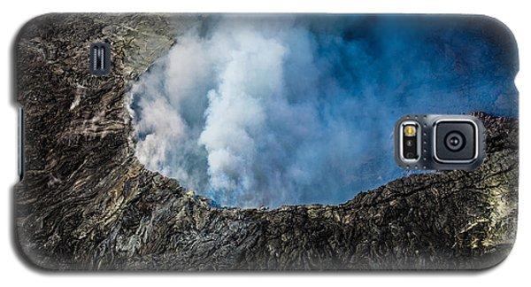 Volcano Galaxy S5 Case by M G Whittingham