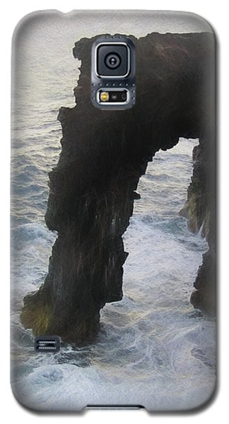 Volcanoes National Park Photo Sketch Galaxy S5 Case