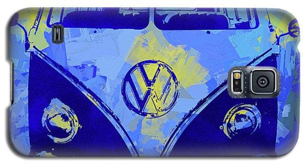 Volkswagen Bus Pop Blue Galaxy S5 Case