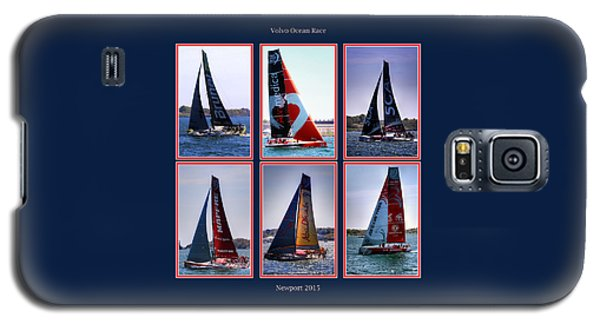 Volvo Ocean Race Newport 2015 Galaxy S5 Case by Tom Prendergast