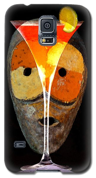 Galaxy S5 Case featuring the painting Voodoo Martini by David Lee Thompson