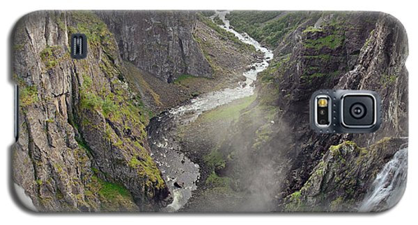 Voringsfossen Waterfall And Canyon Galaxy S5 Case