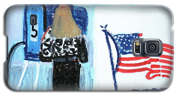 Voting Booth 2008 Galaxy S5 Case by Candace Lovely