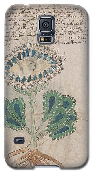 Voynich Flora 11 Galaxy S5 Case